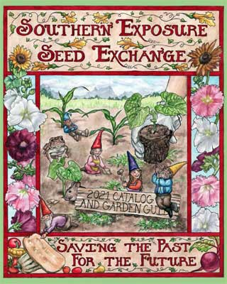 Southern Expsosure Seed Exchange 2021 catalog cover