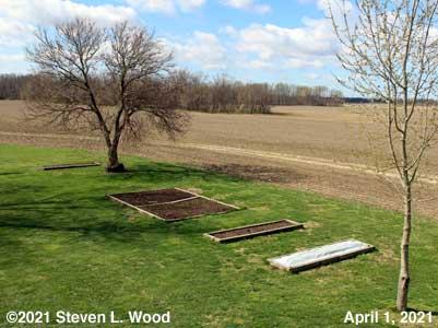 Our Senior Garden - April 1, 2021