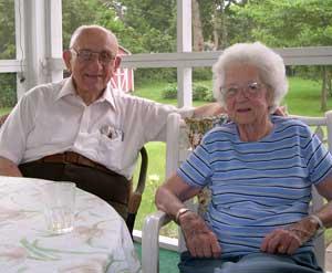 Clarence and Sarah Wood