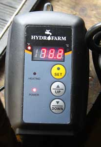 Hydrofarm Digital Thermostat for heat mats