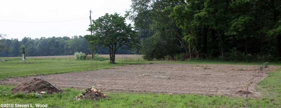 East Garden planted!