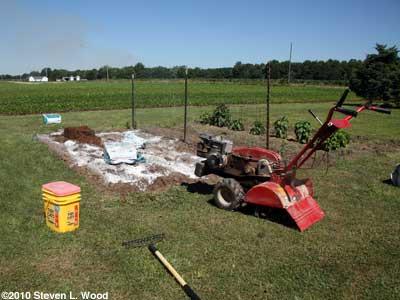Renovating plot