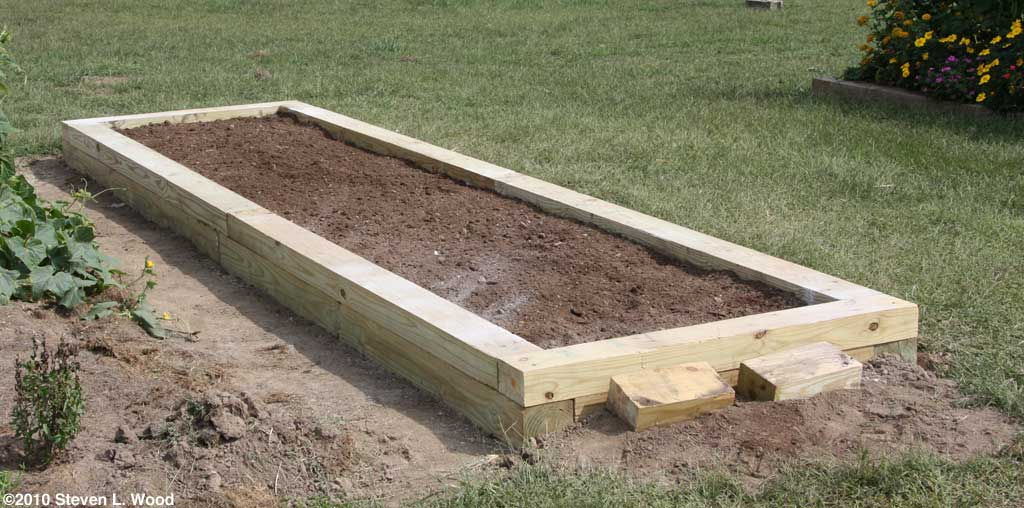 raised garden beds design. New riased bed Building a Raised Garden Bed