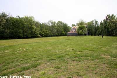 Field and barn