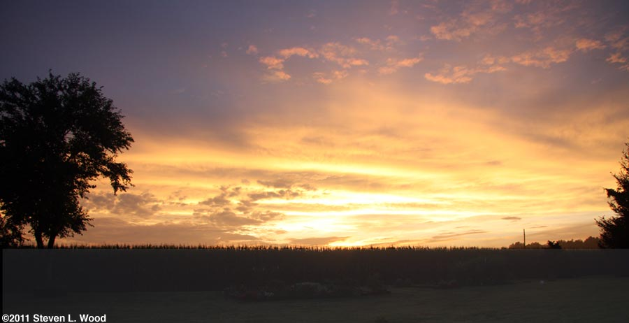 Sunset - 7/24/2011