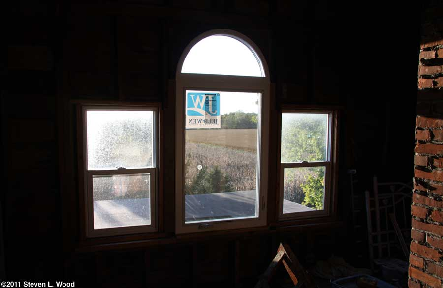 New attic window