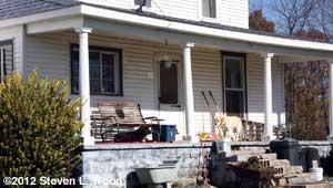 Bare porch