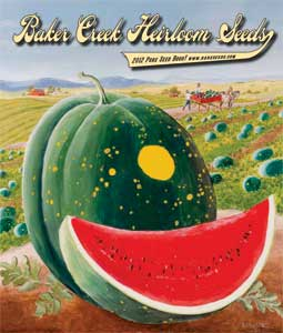 Baker Creek Heirloom Seeds catalog cover