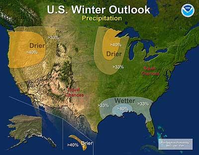 NOAA Outlook Map