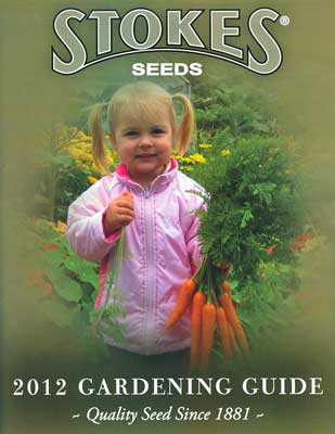 Stokes Seed catalog cover - 2012