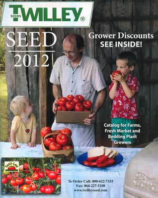 Twilley Seed catalog cover -2012