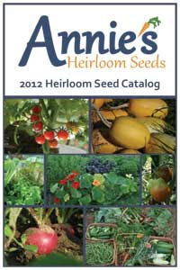 Annie's Heirloom Seeds catalog