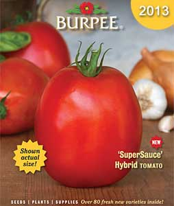 Burpee 2013 Catalog Cover