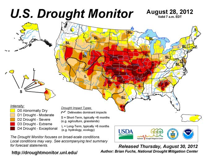 Drought - Aug. 28