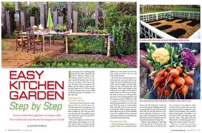 Easy Kitchen Garden
