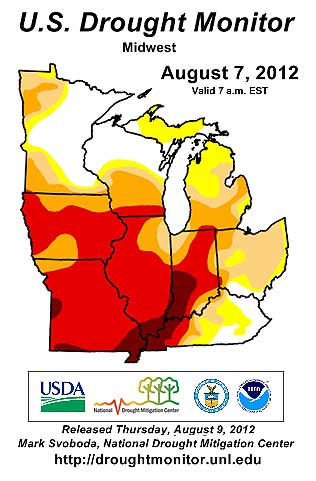 Midwest drought 120807