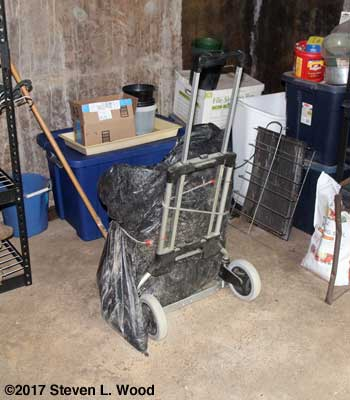 Hand truck with Pro Mix