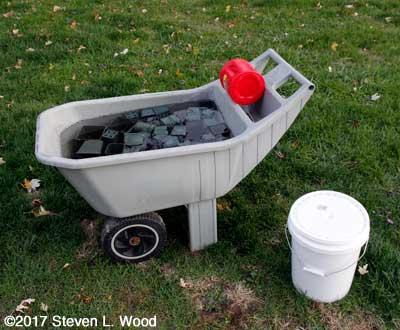 Pots soaking