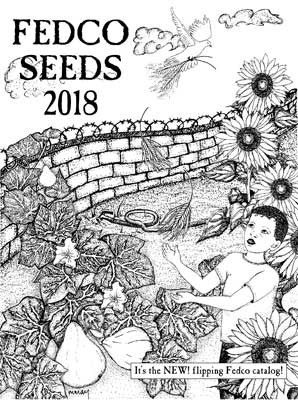 Fedco Seeds 2018 Catalog Cover