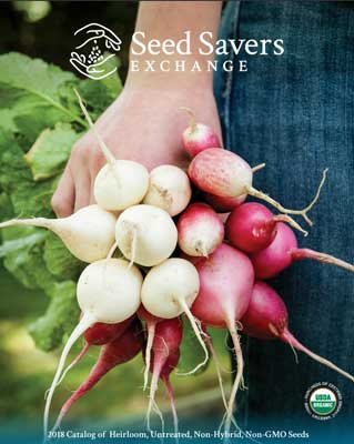 Seed Savers Exchange 2018 Catalog Cover
