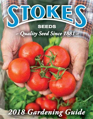 Stokes Seeds 2018 Catalog Cover