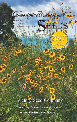 Victory Seeds 2017 Catalog Cover