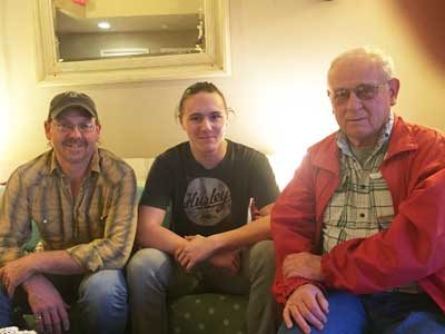 Three generations of Woods