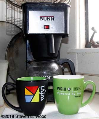 WFYI and WSIU mugs