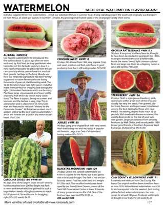 Watermelon from Baker Creek