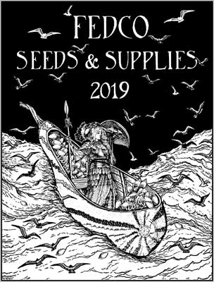 Fedco Seed 2019 Catalog Cover