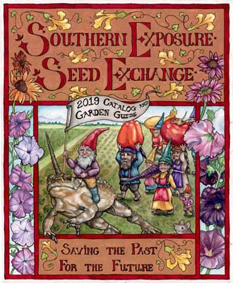 Southern Exposure Seed Exchange 2019 Catalog Cover