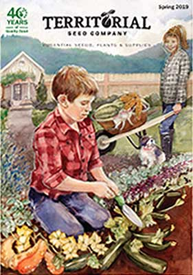 Territorial Seed 2019 catalog cover