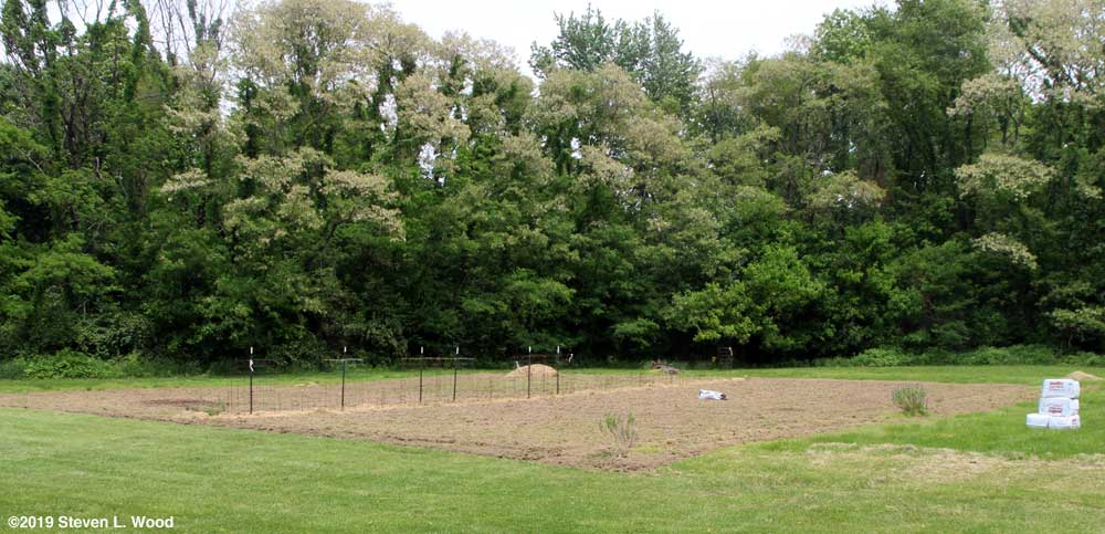 East Garden tilled - May 17, 2019