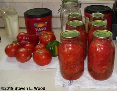 More canned tomatoes