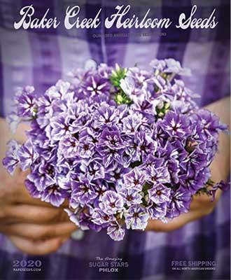 Baker Creek Heirloom Seeds 2020 catalog cover