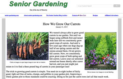 How We Grow Our Carrots