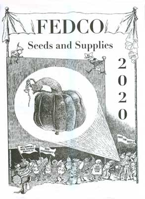 Fedco Seeds 2020 catalog cover