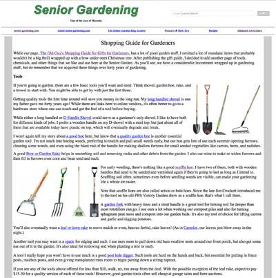 Garden Shopping Guide