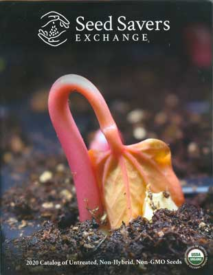 Seed Savers Exchange 2020 Catalog Cover