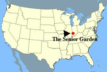 US Map - Senior Garden